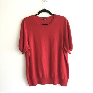 MARKS & SPENCER Cashmere Crew Neck Sweater Red XL